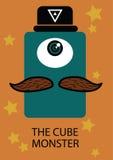 El monstruo del cubo Foto de archivo