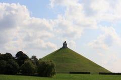 El montón del león de Waterloo Foto de archivo