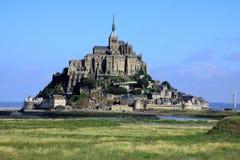 El mont St-Miguel.  Francia Imágenes de archivo libres de regalías