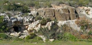 El monte Carmelo Beit Oren Imagen de archivo libre de regalías