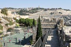 El monte de los Olivos en Jerusalén Israel Fotos de archivo