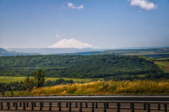 El monte Elbrus foto de archivo libre de regalías