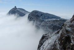 El Monte Emei Foto de archivo