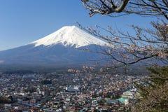 El monte Fuji Foto de archivo