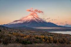El monte Fuji en otoño Foto de archivo