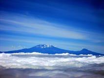 El monte Kilimanjaro Fotografía de archivo libre de regalías
