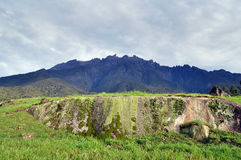 El Monte Kinabalu imágenes de archivo libres de regalías