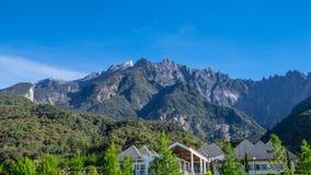 El Monte Kinabalu en Sabah Imagen de archivo
