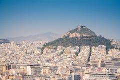 El monte Licabeto Fotos de archivo