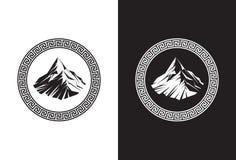 El monte Olimpo fotografía de archivo