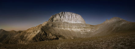 El monte Olimpo imágenes de archivo libres de regalías