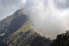 El monte Olimpo imagenes de archivo