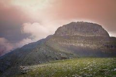 El monte Olimpo Fotos de archivo