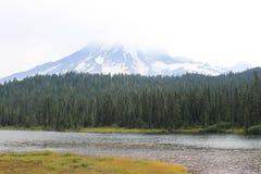 El Monte Rainier en Washington Imagen de archivo