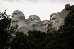 El monte Rushmore foto de archivo libre de regalías