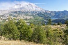 El Monte Saint Helens imagenes de archivo