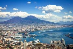 El monte Vesubio Imagenes de archivo