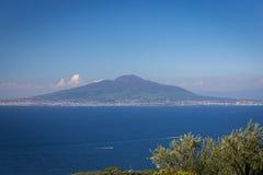El monte Vesubio maravilloso Fotografía de archivo libre de regalías