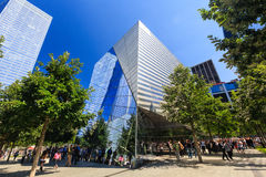 El monumento 911 Fotografía de archivo libre de regalías