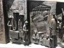 El monumento afroamericano de la historia fotografía de archivo