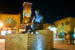 El monumento al calderero en Kermán, Irán Imagen de archivo libre de regalías