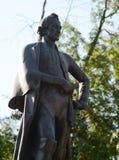 El monumento al comandante Alexander Suvorov en la ciudad de Mytischi Imagenes de archivo