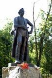 El monumento al comandante Alexander Suvorov en la ciudad de Mytischi Fotos de archivo
