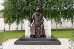 El monumento al trabajo del St en el monasterio santo de Dormition en Stari Foto de archivo libre de regalías