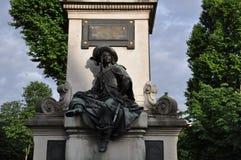 El monumento a Alexander Dumas Fotos de archivo libres de regalías