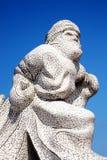 100 el monumento antártico, Cardiff Fotografía de archivo