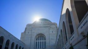 El monumento australiano de la guerra fotografía de archivo