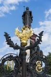 El monumento a Catherine The Great Imagen de archivo
