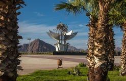 El monumento cuadrado de la paz se enumera en el libro de Guinness de expedientes Fotos de archivo libres de regalías