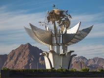 El monumento cuadrado de la paz se enumera en el libro de Guinness de expedientes Fotos de archivo
