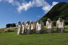 El monumento de Anse Cafard Imágenes de archivo libres de regalías