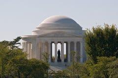 El monumento de Jefferson en la luz de la mañana Fotografía de archivo