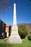 El monumento de la artillería de Botetourt Imagen de archivo libre de regalías