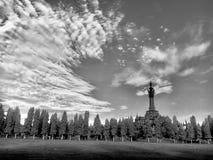 El monumento fotos de archivo libres de regalías