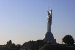 El monumento de la patria en Kiev Fotografía de archivo