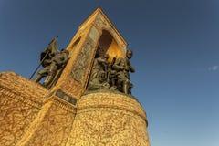 El monumento de la república Imagenes de archivo
