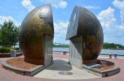 El monumento de la Segunda Guerra Mundial Imagen de archivo libre de regalías