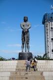 El monumento de Lapu Lapu imagen de archivo libre de regalías