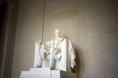El monumento de Lincoln Fotos de archivo libres de regalías