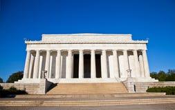 El monumento de Lincoln Fotos de archivo
