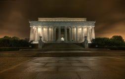 El monumento de Lincoln Foto de archivo libre de regalías