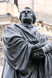 El monumento de Martin Luther en Dresden Alemania Fotos de archivo libres de regalías