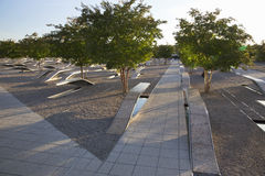 El monumento de Pentágono Foto de archivo