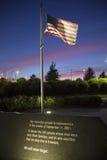 El monumento de Pentágono Imagen de archivo libre de regalías
