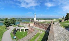 El monumento de Pobednik (el vencedor) en Belgrado, Serbia Foto de archivo libre de regalías