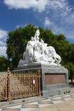 El monumento de príncipe Albert en Hyde Park, Londres. Imagen de archivo libre de regalías